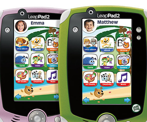 LeapPad 2 in pink and green