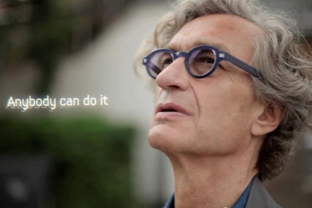 Wim Wenders Samsung Galaxy Note II teaser