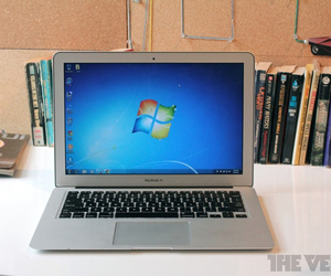 Gallery Photo: MacBook Air with Windows 7 review
