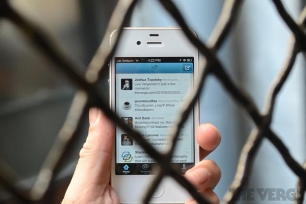Twitter API fence