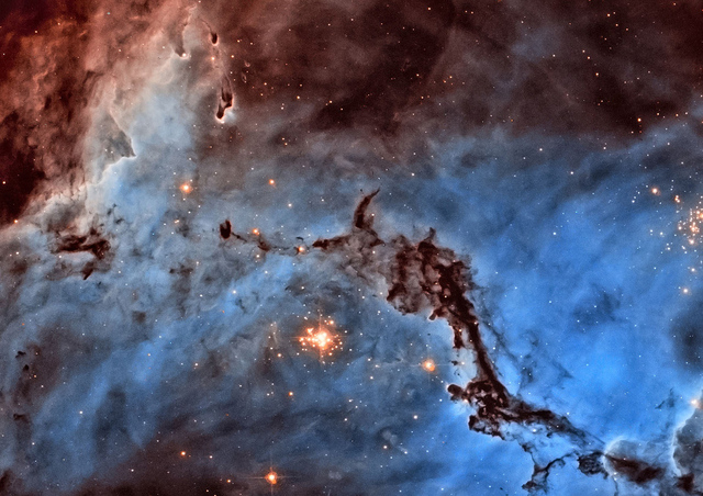Hubble image processing winner