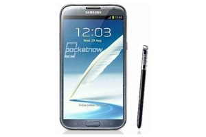 Samsung Galaxy Note II leaked pic