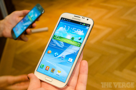 Gallery Photo: Samsung Galaxy Note II hands-on photos