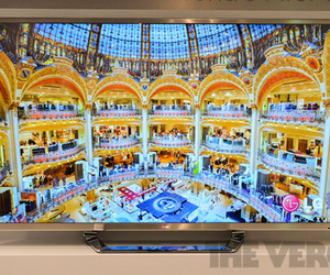 Gallery Photo: LG 84LM9600 84-inch 4K 3D TV hands-on pictures