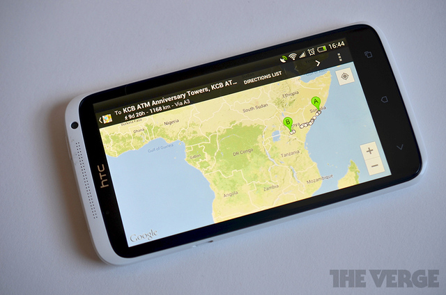 Google Maps directions android