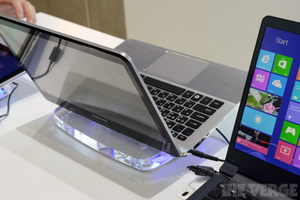 Samsung Dual Display Prototype at IFA 2012