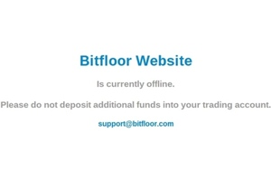 Bitfloor downtime message