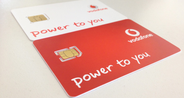 Vodafone nano-SIM