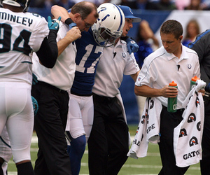 Austin Collie Injury: Colts WR Out For Year With Ruptured Patellar ...