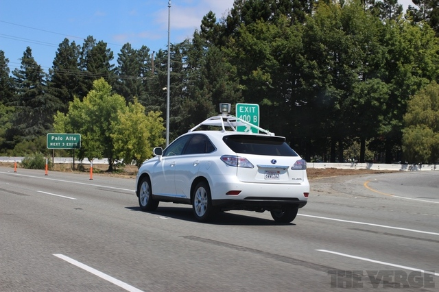 Google self driving autonomous car stock 1024