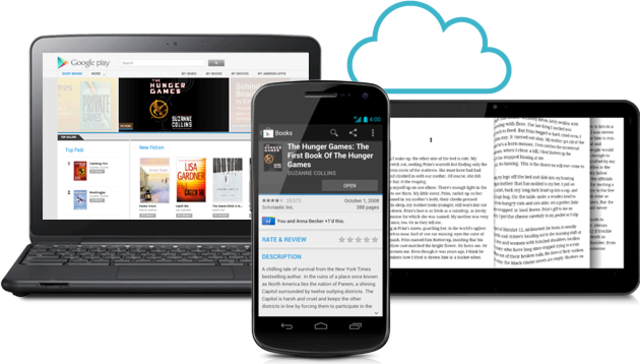 Google Books Devices