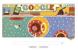 little nemo google doodle
