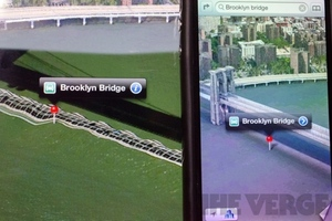Apple Maps Fixed Brooklyn Bridge