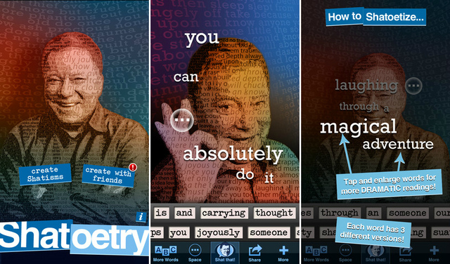 Shatoetry app screenshots