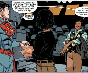 Neil Degrasse tyson superman DC COMICS