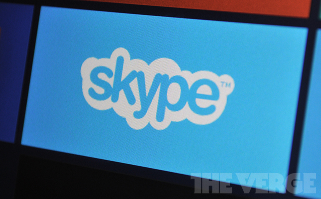 Skype Windows 8 stock