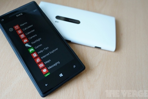 htc 8x, lumia 920, stock
