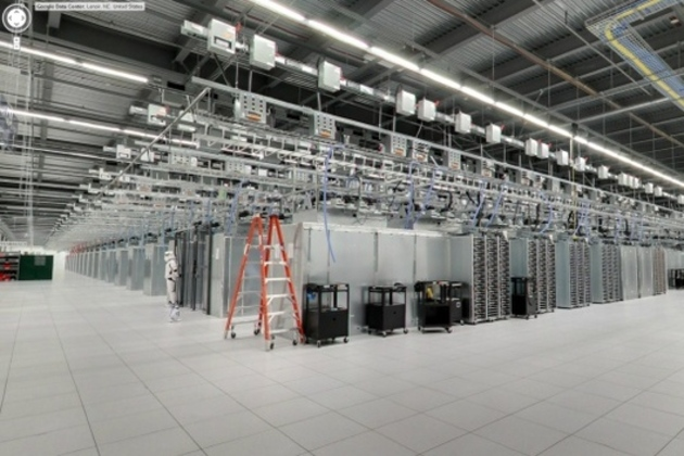 Google NC data center via Street View