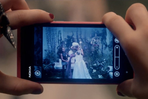 "A Nokia Lumia 800 in Carly Rae Jepsen's ""This Kiss"""