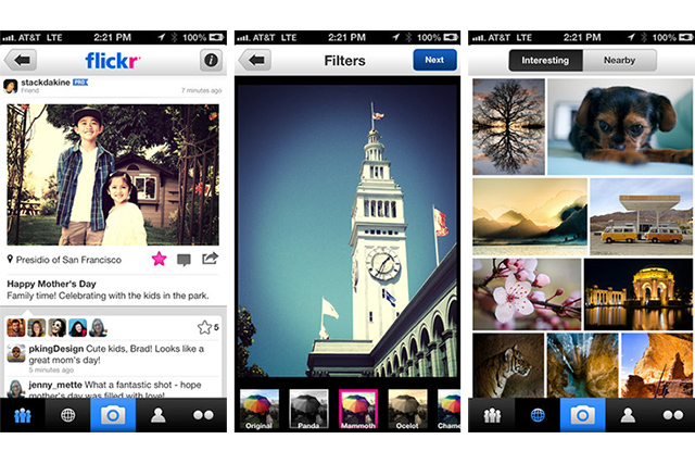 Redesigned Flickr for iPhone adds filters two years after ...