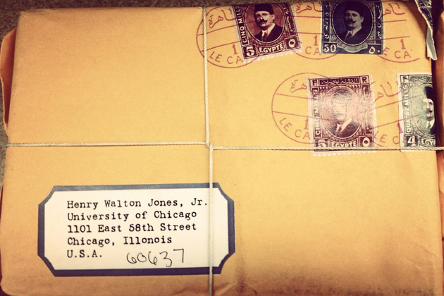 university of chicago indiana jones mail