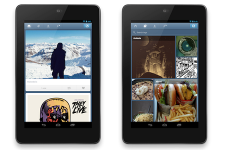 tumblr android tablet app