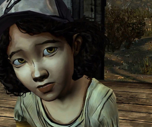 The Walking Dead Clementine screencap