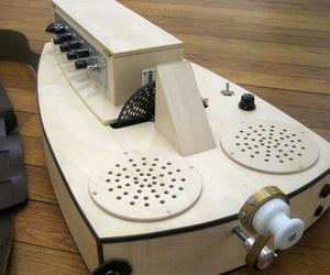 Tonewheels Hurdy Gurdy, by Derek Holzer