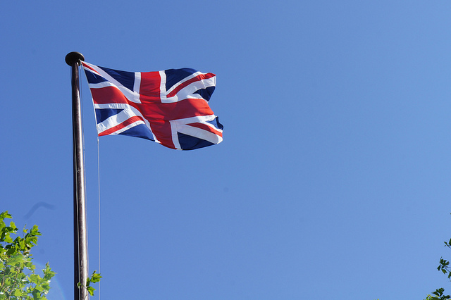 UK Flag (Flickr - ReeSaunders)
