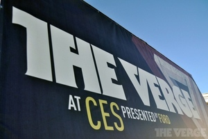 Gallery Photo: The Verge live at CES 2012