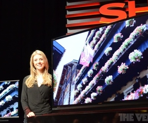 Gallery Photo: Sharp unveils UHD TVs at CES 2013