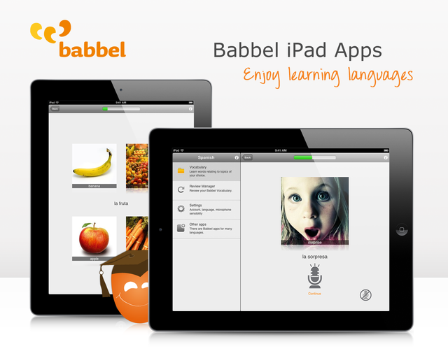 Babbel iPad subscriptions