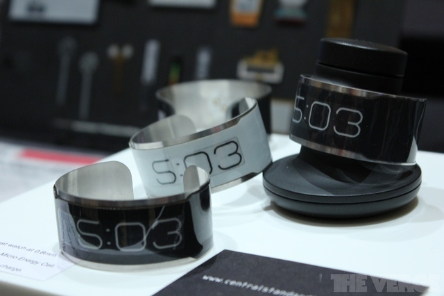 Gallery Photo: World's thinnest E Ink watch