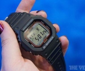 Gallery Photo: Casio GB-5600A bluetooth watch hands-on photos