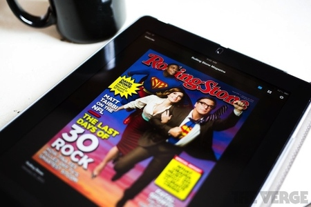 Rolling Stone iPad stock