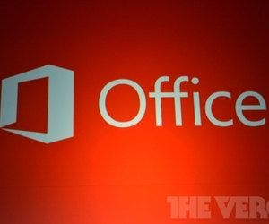 Microsoft Office 2013 logo stock