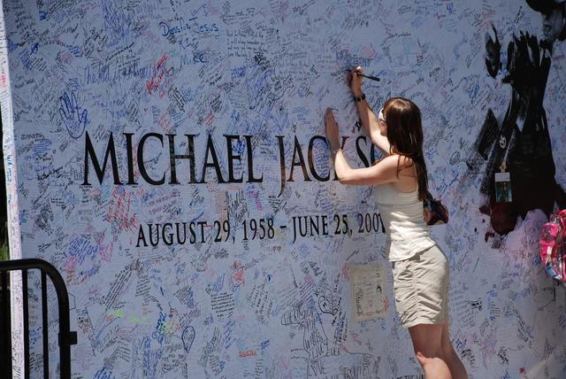 Michael Jackson wall (ShutterStock)