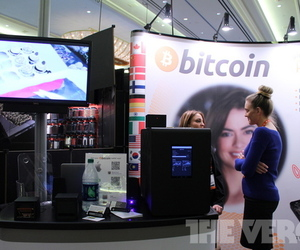 bitcoin booth