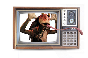 3D Jar Jar [SHUTTERSTOCK]
