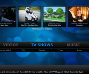 Gallery Photo: XBMC 12 'Frodo' screenshots