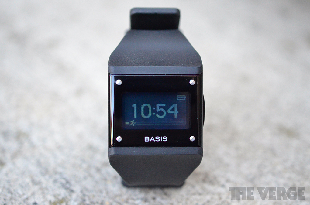 Basis B1 fitness band