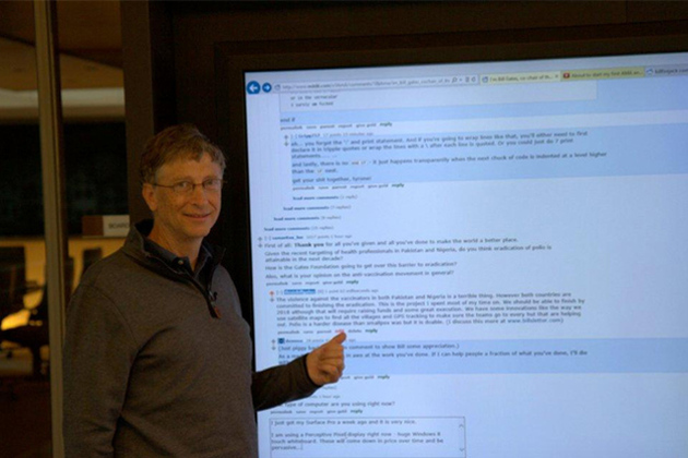 Bill Gates hits Reddit for an