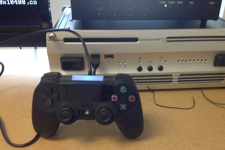 PlayStation 4 controller prototype leak (Destructoid)