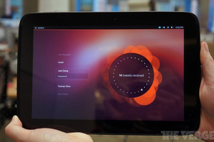 Ubuntu tablet