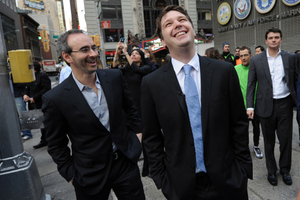 Groupon co-founders Eric Lefkofsky and Andrew Mason