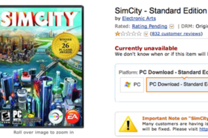 SimCity Amazon