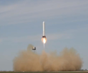 SpaceX Grasshopper test flight