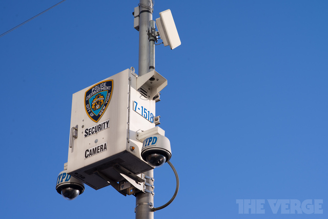 NYPD security camera (STOCK)