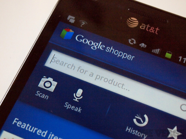 google shopper large