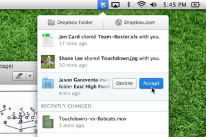dropbox desktop redesign